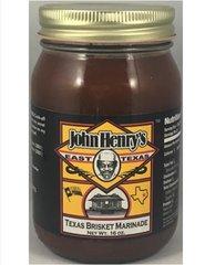 John Henry's Texas Brisket Marinade