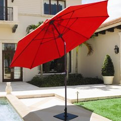 Galtech 9' Umbrella w/Bronze Pole