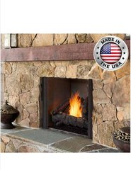 Outdoor Lifestyles Courtyard Outdoor Gas Fireplace
