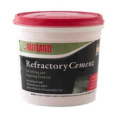 Rutland Refractory Cement (1 Gal)