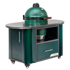 Challenger Designs Compact Island for The Big Green Egg