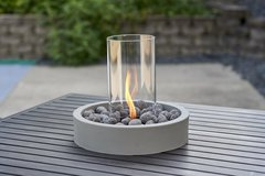 Outdoor GreatRoom Cove Intrigue Table Top Lantern