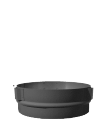 """Ultrablack by ICC 6"""" Stove Adapter"""