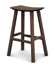 "Polywood 30"" Traditional Saddle Bar Stool"