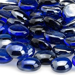 American Fireglass Royal Blue Luster Fire Beads