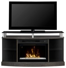 Dimplex Windham Media Console w/ Electric Firebox - Acrylic Ice
