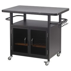 "Outdoor GreatRoom 36"" Bistro Cabinet for Electric Grill"