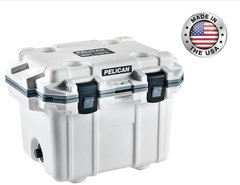 Pelican 30qt Elite Cooler - White
