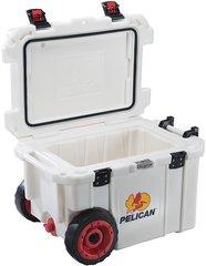 Pelican 45qt Elite Cooler w/ Wheels - White