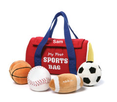 "Personalized ""My Sports Bag"" Playset"