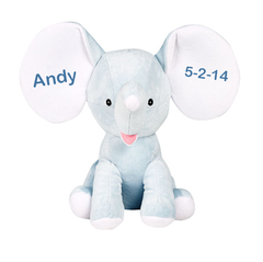 Personalized Dumble the Elephant - Blue