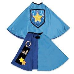 Personalized Magical Secret Pocket Cape - Blue