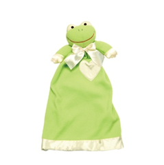 Personalized Lovie Babies Frankie the Frog Security Blanket