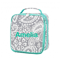 Personalized Parker Paisley Lunchbox