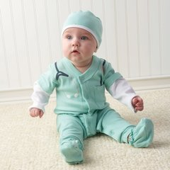 Personalized Little Doctor Three-Piece Sleeper Set