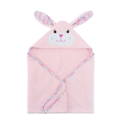 Toddler's Personalized Bunny Hooded Towel
