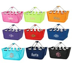Personalized Market Tote - 9 Color Options