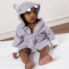 Personalized Hug-alot-amus Hippo Spa Robe