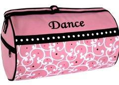 Swirls N Dots Dance Duffel Bag