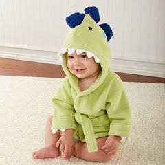 "Personalized ""Splash-a-saurus"" Dinosaur Hooded Spa Robe"