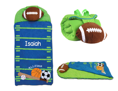 Personalized 3D Sports Nap Mat by Stephen Joseph