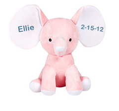 Personalized Dumble the Elephant - Pink
