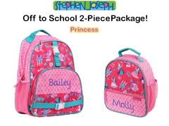 "Personalized ""Back to School"" 2-Piece Princess Set"