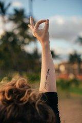 Faith Not Fear Temporary Tattoos - 2 Pack
