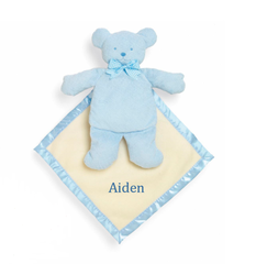 "10"" Personalized Baby Bear Cozy - Blue"