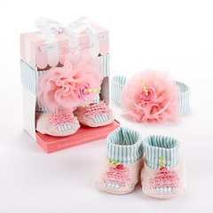 Baby Cakes Headband and Booties