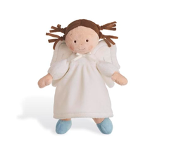 "Personalized 10"" Angel Girl - Brunette"