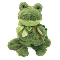 "12"" Mamma & Crinkle Baby - Frog"