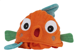 Children's Personalized Goldfish Hooded Towel