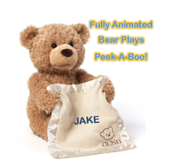 Personalized Animated Peek-A-Boo Bear by Gund