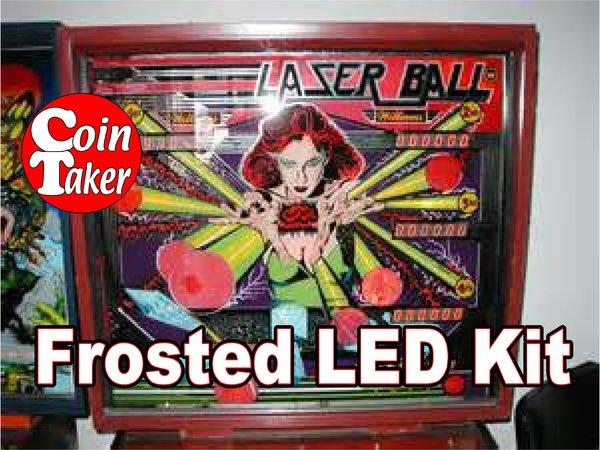 3. LASER BALL  LED Kit w Frosted LEDs