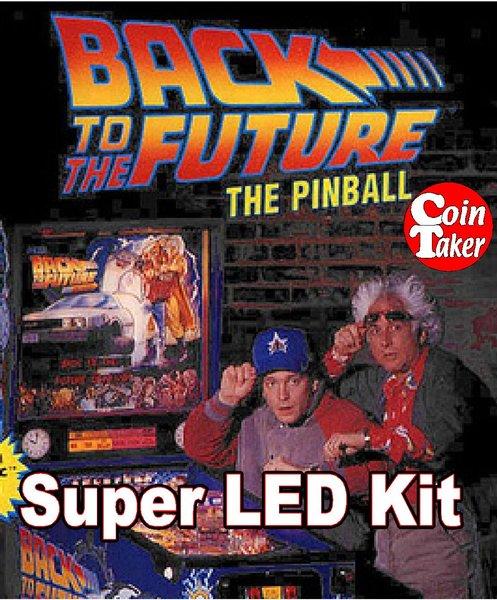 2. BACK TO THE FUTURE LED Kit w Super LEDs