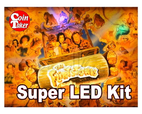 2. FLINTSTONES  LED Kit w Super LEDs