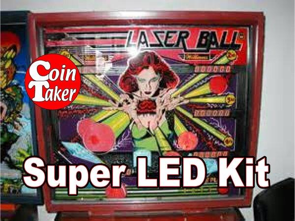 2. LASER BALL LED Kit w Super LEDs