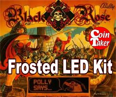 3. BLACK ROSE LED Kit w Frosted LEDs
