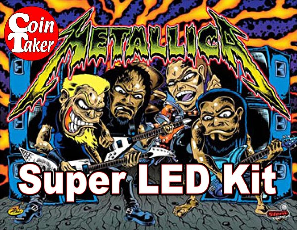 METALLICA-2 LED Kit w Super LEDs