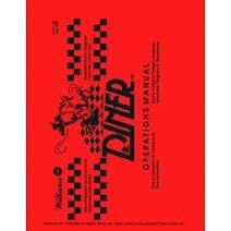 DINER PINBALL MACHINE MANUAL (REPRINT)