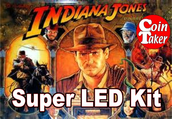 2. 1993 INDIANA JONES  LED Kit w Super LEDs