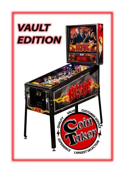 AC/DC PRO VAULT PINBALL, STERN PRO