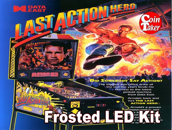3. LAST ACTION HERO LED Kit w Frosted LEDs