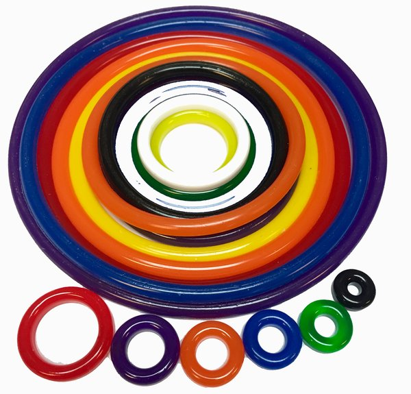 Space Invaders Polyurethane Rubber Ring Replacement Kit - 27 pcs