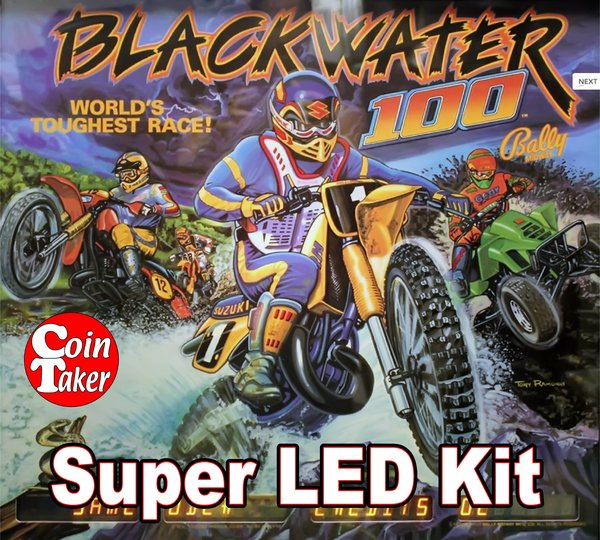 BLACKWATER LED Kit w Super LEDs