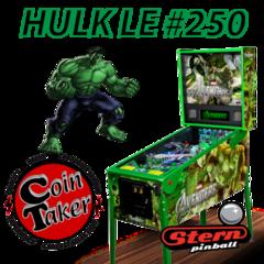 Hulk Avengers LE Pinball #250 of 250