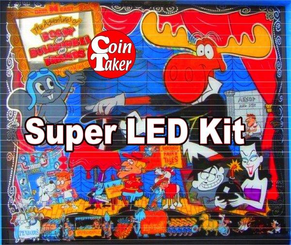 2. ROCKY AND BULLWINKLE LED Kit w Super LEDs