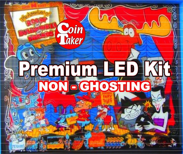 1. ROCKY AND BULLWINKLE LED Kit with Premium Non-Ghosting LEDs
