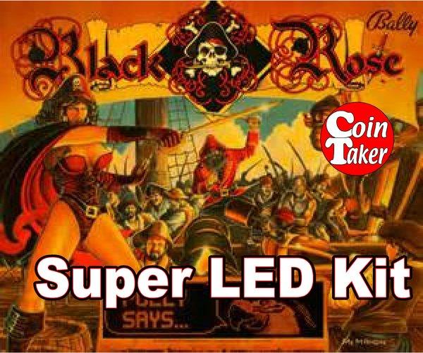 2. BLACK ROSE LED Kit w Super LEDs